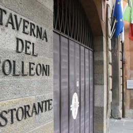 Taverna Colleoni, luce dopo la chiusura? Trussardi: «Pronto a valutare un progetto»
