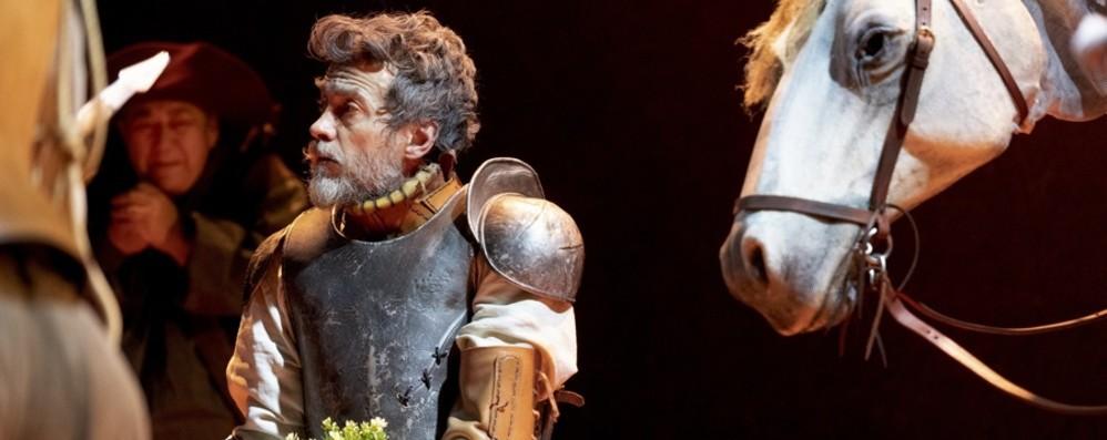 Alessio Boni torna a Bergamo Sul palco del Creberg è Don Chisciotte