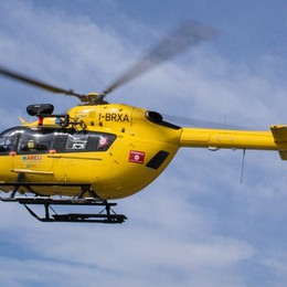 Infortunio sul lavoro a Treviglio Grave un operaio, in elicottero al Niguarda