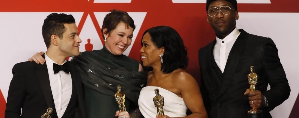 Oscar 2019, al film dei Queen 3 statuette vince «Green Book», a Cuaròn tre premi