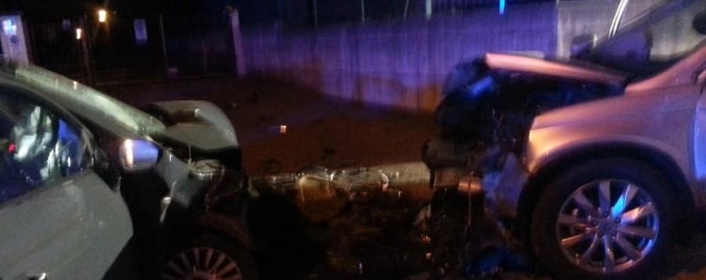 Schianto tra due auto ad Albano Coinvolto un bambino, grave una 20enne
