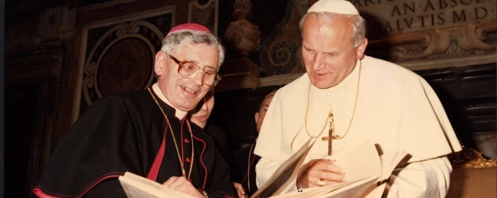 Vescovo Oggioni, anniversario della morte Una messa e un libro per ricordarlo
