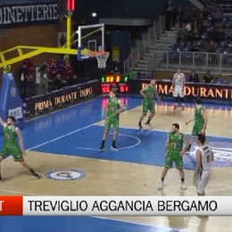 Basket, Treviglio aggancia Bergamo