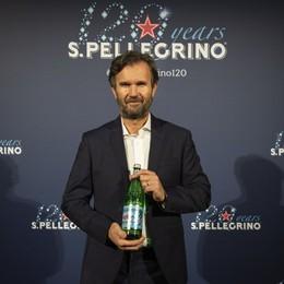 Bottiglia-diamante in edizione limitata Festa per i 120 anni di Sanpellegrino