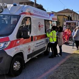 Inversione e schianto auto-moto a Curno Tra i feriti due ragazzi di 13 e 14 anni