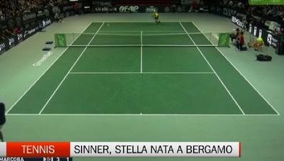 Sinner, la stella nata agli Internazionali di Bergamo