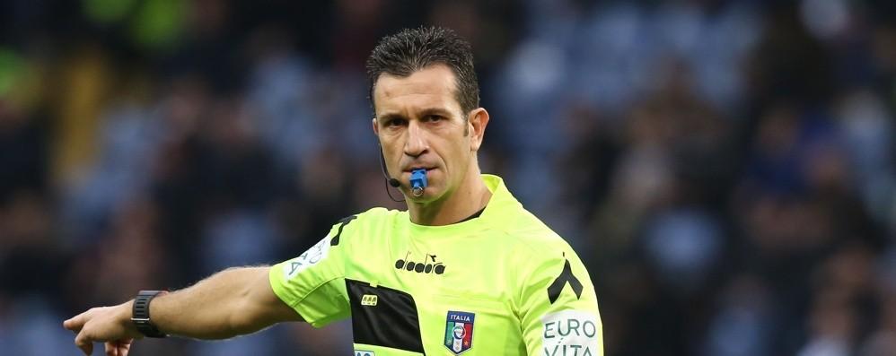 Cambia l'arbitro di Fiorentina-Atalanta Giacomelli sostituisce Doveri