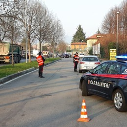 Controlli sulle strade della Bergamasca In due giorni 300 persone identificate