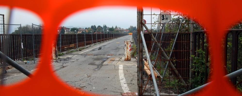Ponte di Calusco, conto alla rovescia Il 29 marzo apre a bici e pedoni