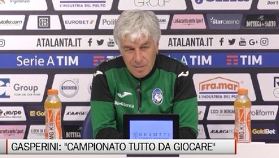 «Campionato tutto da giocare» Gasperini parla del Cagliari