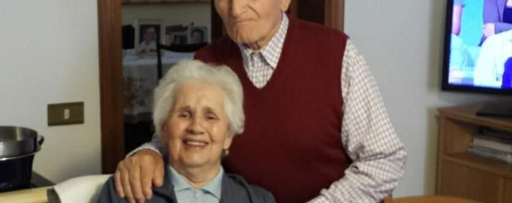 Fedele e Marcellina, 70 anni insieme «Un esempio di amore per tutti»