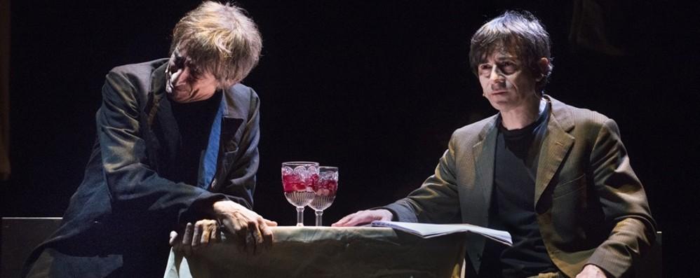 Rubini e Lo Cascio al Creberg Teatro C'è «Delitto/Castigo» di Dostoevskij