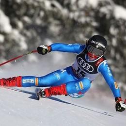 La grinta «mondiale» di Sofia Goggia «Orgogliosa di gareggiare per l'Italia»