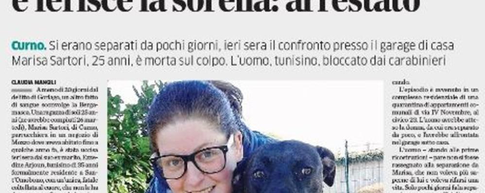 Maria, Stefania, Gianna, Daniela e le altre Le vittime di femminicidio in Bergamasca