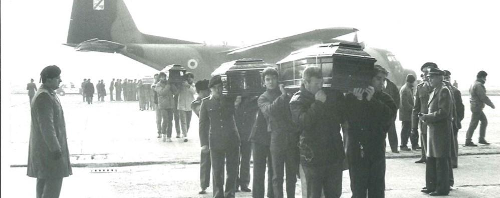 Trent'anni fa il disastro aereo delle Azzorre  Morirono 20 bergamaschi - Foto e video