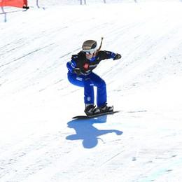 Coppa del Mondo di snowboard Michela Moioli terza in qualifica