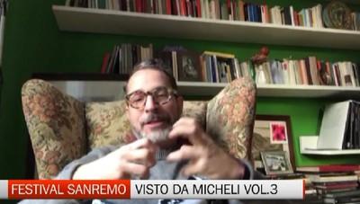 Festival di Sanremo visto di Francesco Micheli, terza puntata