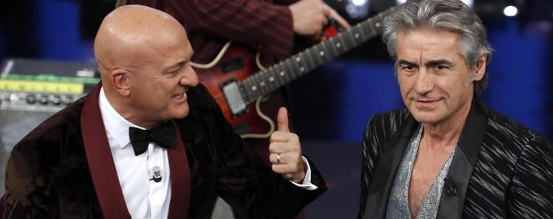 Sanremo, iniziati i duetti - Vota Sul palco subito Ligabue. La diretta