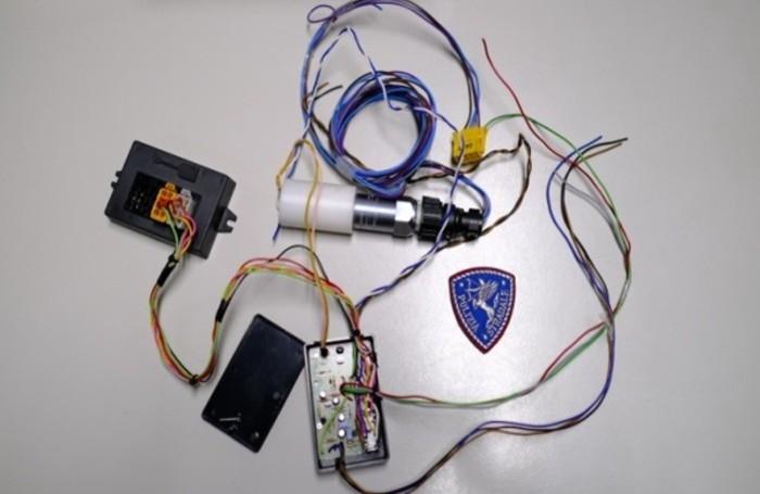 controles de tacógrafo de la policía de tráfico
