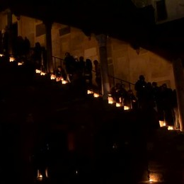 «M'illumino di meno» 2019 in Città Alta
