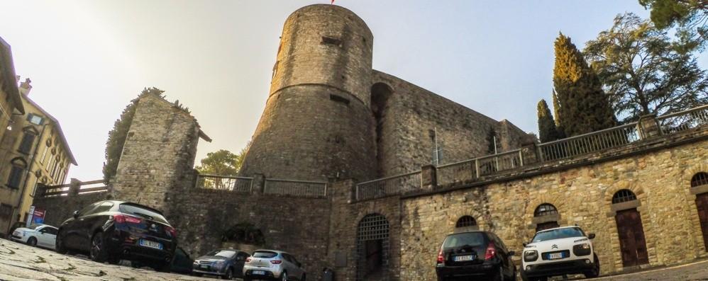 Città Alta, lavori agli sgoccioli alla Rocca «Il parco riaprirà a Pasqua»