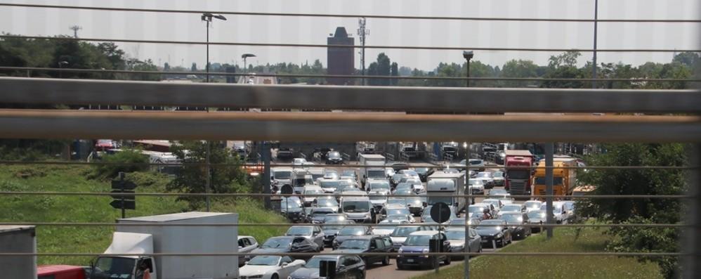 Giovedì lavori in autostrada Casello di Bergamo chiuso