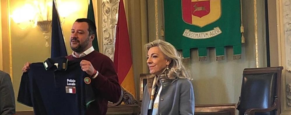 Salvini: Zingonia un modello per l'Italia «Sui tifosi  indagini». La lettera di Gori