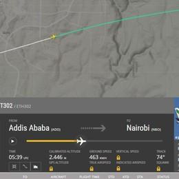 Basso e veloce: i misteri del volo caduto Confronto con i tracciati dei giorni precedenti