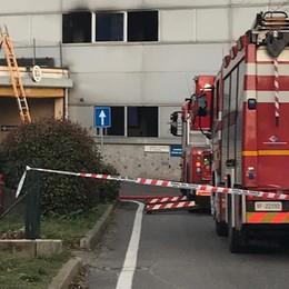 Seriate, incendio in ospedale Notte di chiusura per  il Pronto soccorso