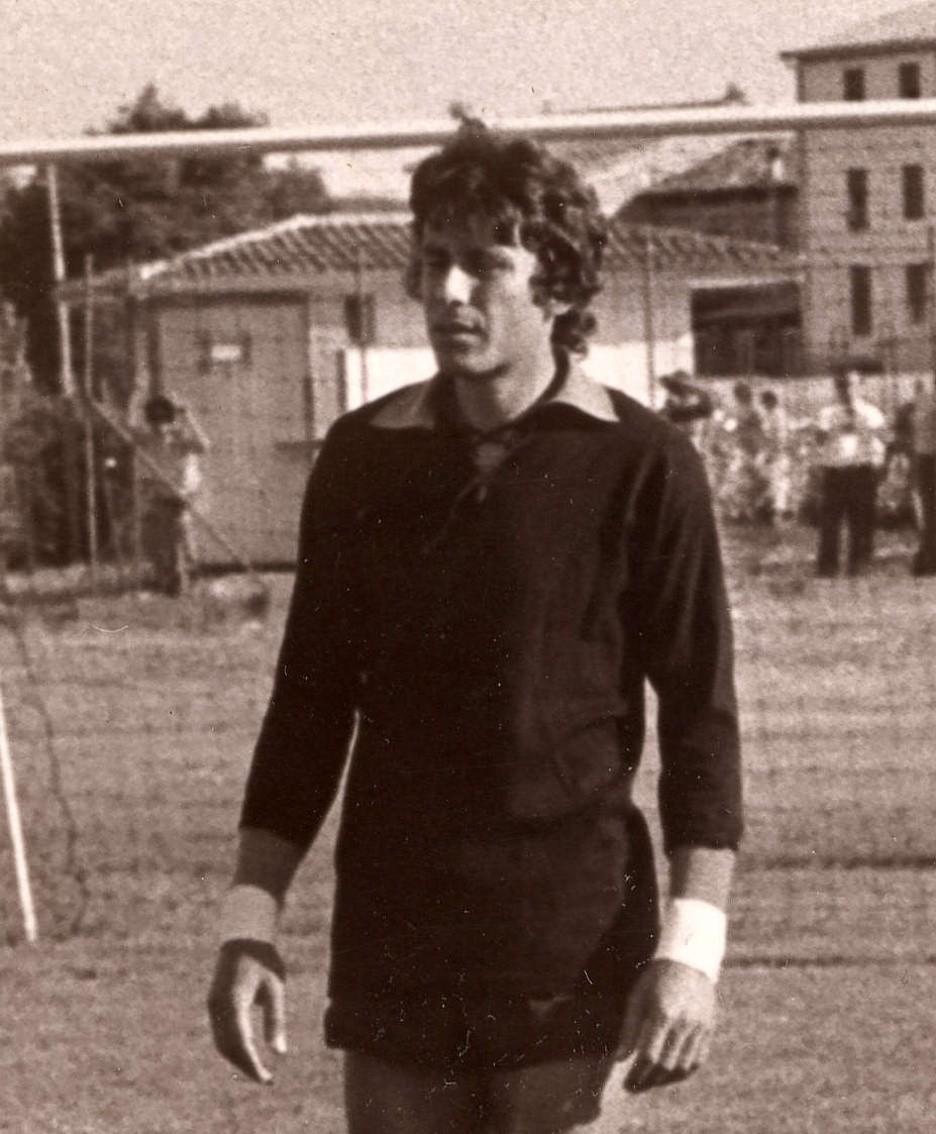Renato Cipollini in una foto degli anni Settanta