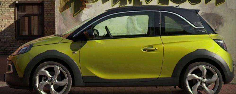 Opel Adam Rocks Nuovo allestimento