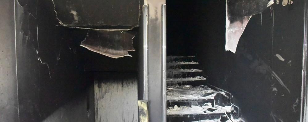 Ospedale di Seriate, le foto dopo il rogo Pronto soccorso ancora chiuso