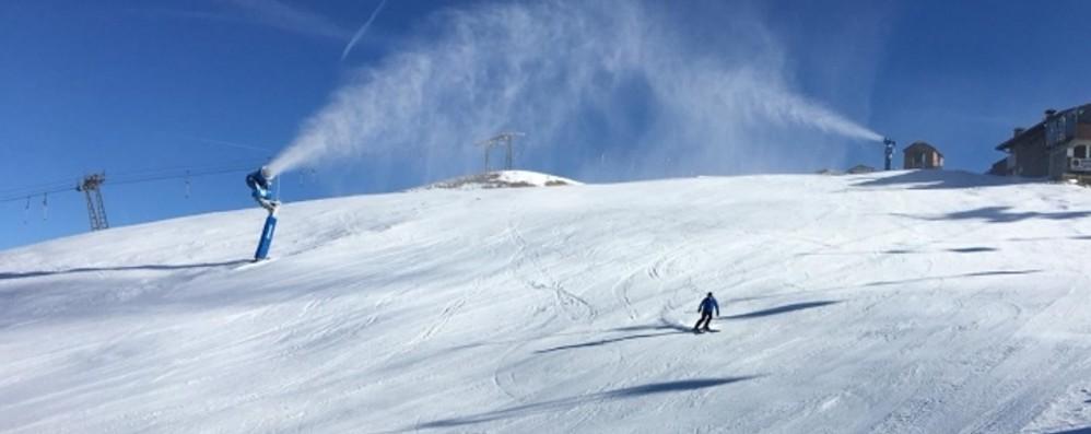 Fine settimana con il bel tempo E sul Pora si scia ancora