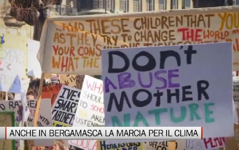 Fridays For Future Photo: Anche Bergamo Marcia Per Il Clima
