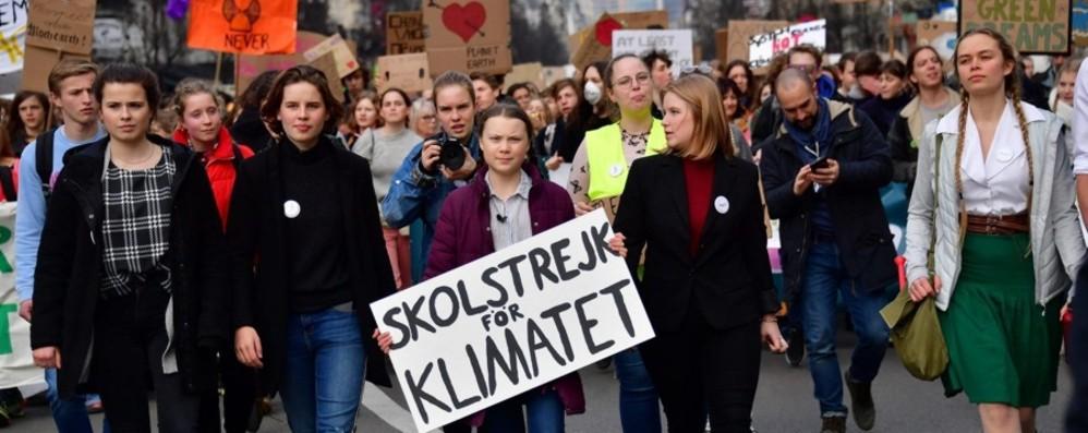 Greta e il clima verso il  Nobel per la pace Marcia anche a Bergamo: mandaci le foto