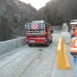 Frana ad Ardesio, riaperta la strada Sorvegliata speciale per la sicurezza