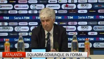 Atalanta-Chievo 1-1 - Gasperini: Squadra in forma, ma la sosta arriva al momento giusto
