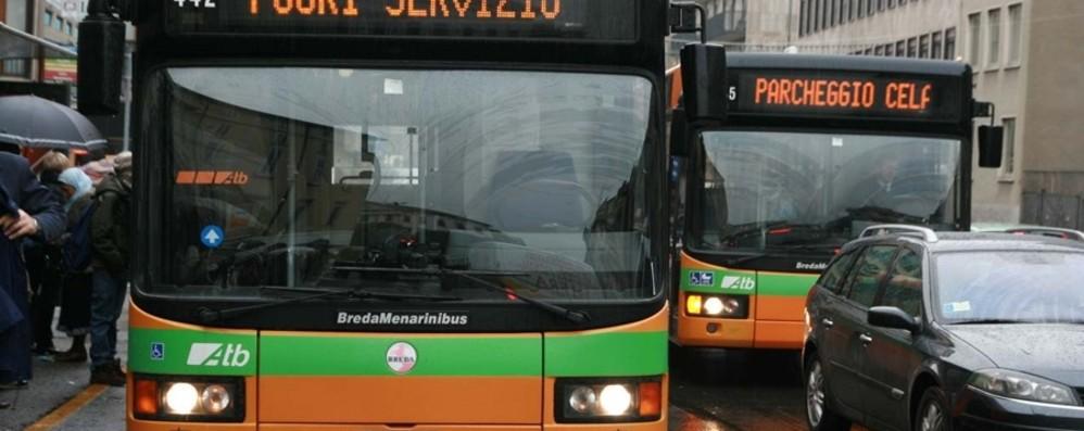 Bergamo, lavori in via Tiraboschi Da lunedì 18 fuori servizio  la fermata Atb