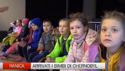 Arrivati a Ranica i bimbi di Chernobyl