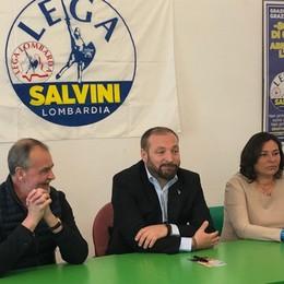 Il centrodestra unito presenta Stucchi Lo slogan: «Semplicemente Bergamo»
