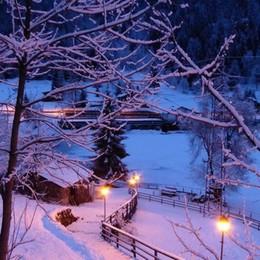 Nevicata nella notte nelle valli- Video Ma sarà una settimana di sole