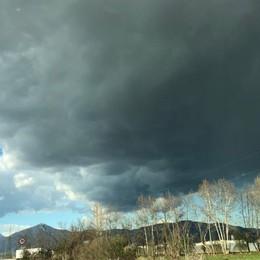 Piove solo in Val Calepio
