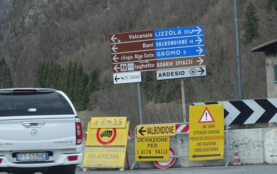 Frana ad Ardesio: aiuti alla Val Seriana Pirellone, via libera alla mozione