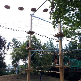 Parco Avventura di Torre Boldone Riapertura... ma plastic free