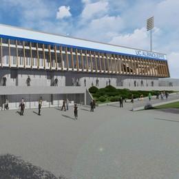 Stadio dell'AlbinoLeffe a Zanica Via libera dal Coni al progetto