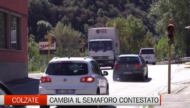 Valle Seriana, il  semaforo  sarà sostituito  È considerato un «tappo» per il traffico