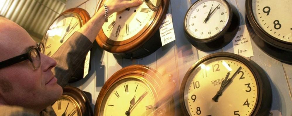 Dietrofront dell'Ue: torna l'ora legale Cambio di lancette tra il 30 e 31 marzo
