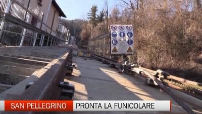 Dopo 30 anni dall'ultima corsa riapre la funicolare di San Pellegrino