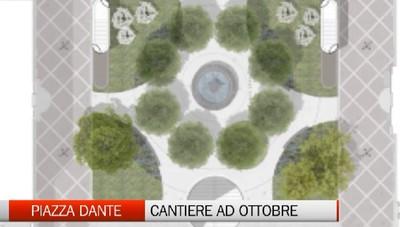 Piazza Dante, il cantiere partirà ad ottobre
