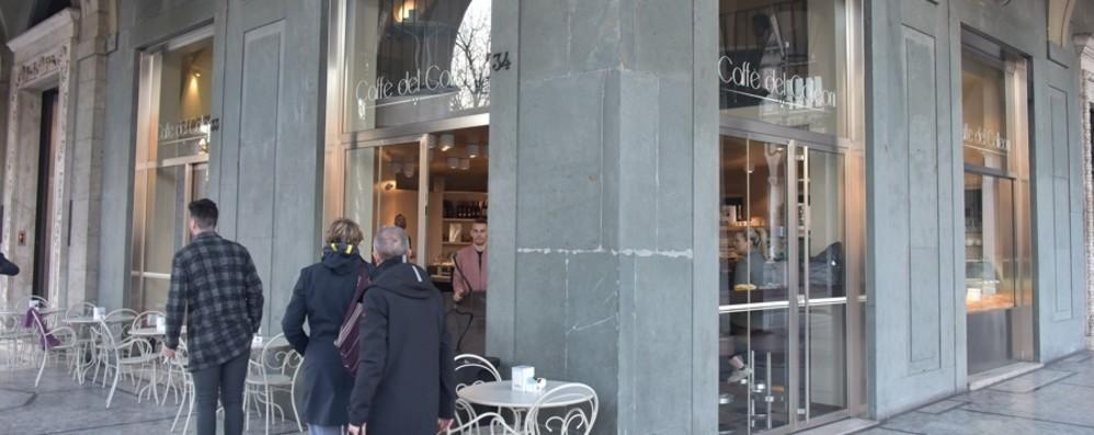 Sentierone, novità per il Caffè del Colleoni  Cambia gestione e apre fino a tarda sera